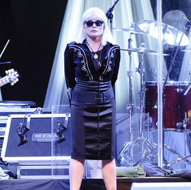 Debbie Harry was performing at Somerset House as part of the Summer Series of concerts