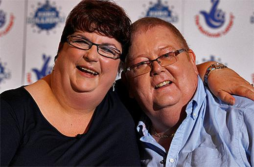 Colin Weir and his wife Chris