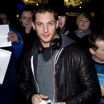 Tom Hardy has been filming The Dark Knight Rises