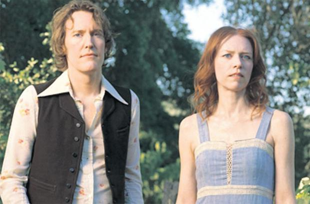 Decent folk: Gillian Welch and her musical and life partner David Rawlings
