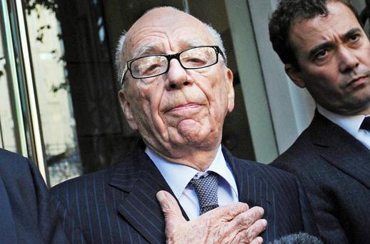 'A GREAT BAD MAN': News Corp chief Rupert Murdoch's nature was well known to the British establishment. Photo: PA