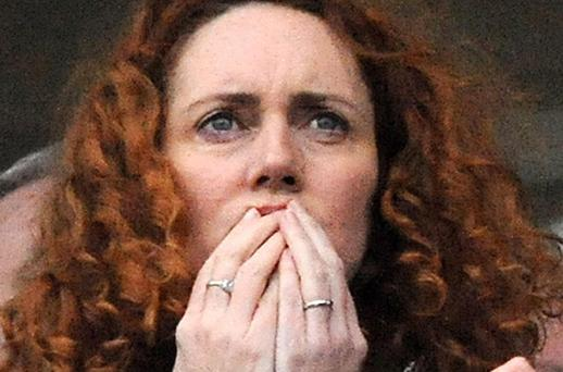 ARRESTED: Rebekah Brooks