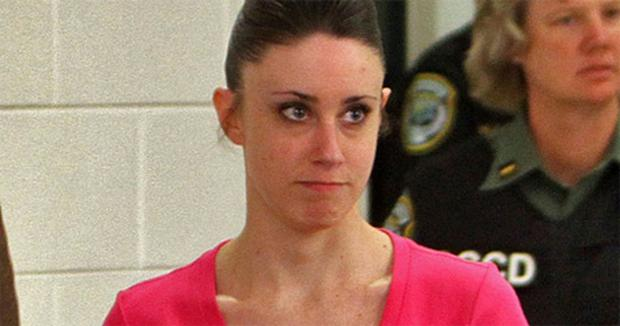 Casey Anthony leaving the Orange county jail at the end of her four-year sentence