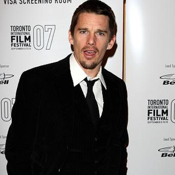 Ethan Hawke was last seen in the vampire film Daybreakers
