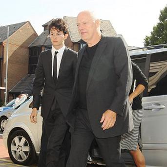 Charlie Gilmour appeared in court with his parents