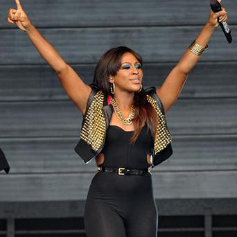 Alexandra Burke performed during the Royal International Air Tattoo