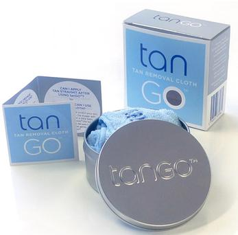 Tan removal cloth by Tango