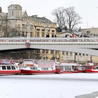 A mystery rescuer plucked a baby girl from the River Ouse near Lendal Bridge in the centre of York