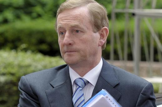 Enda Kenny: The Taoiseach's immediate problem will be to dampen expectations of a relaxation of austerity measures