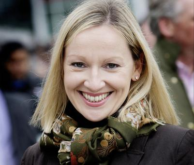 HUGE PRAISE: Fine Gael's Lucinda Creighton applauded leader Enda Kenny's negotiation skills last week
