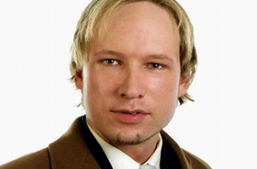 This screen grab of an undated photograph on Facebook. com shows the central suspect of the Norway terror attacks, named by sources as Anders Behring Breivik. Photo: Getty Images