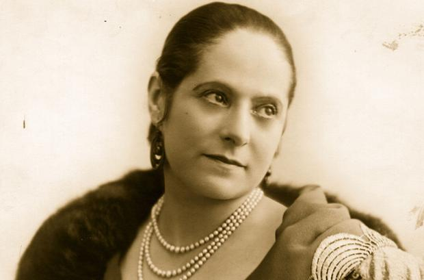 Beauty culture expert and businesswoman Helena Rubinstein