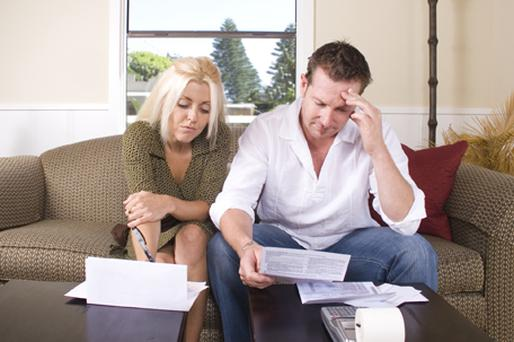 Every 0.25pc increase in interest rates costs households an extra €335m. Picture posed. Getty Images