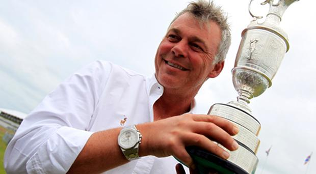 Darren Clarke with the Claret Jug. Photo: Getty Images