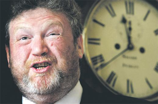 Minister James Reilly: under pressure to save money
