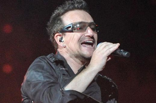 The film chronicles the story of U2. Photo: Getty Images