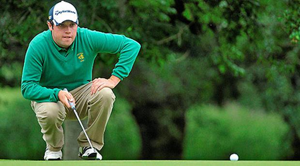 Paul Culter in action during the Irish Open. Photo: Sportsfile