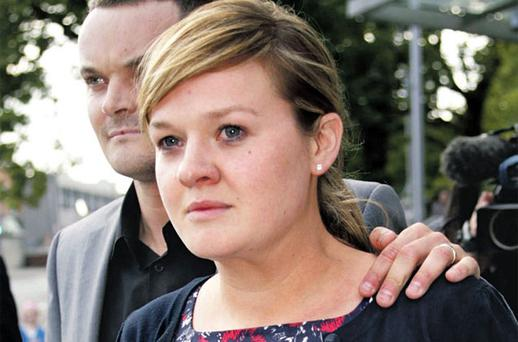 Garda Claire Delaney pictured leaving court yesterday. Photo: COURTPIX