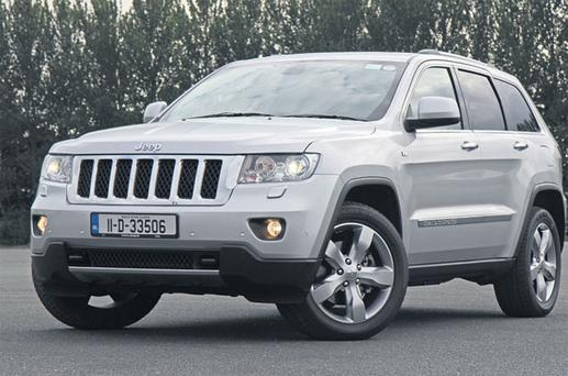COMFORT ZONE: Jeep's Grand Cherokee