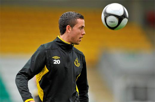 Billy Dennehy, who caused Copenhagen problems in the first leg, could be a key man for Shamrock Rovers tonight