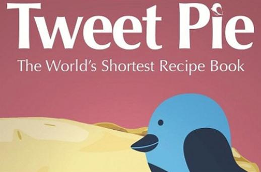 Tweet Pie, 'the world's shortest recipe book'