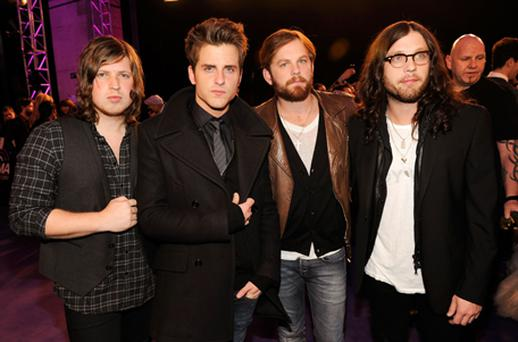 Kings of Leon have insisted they will not split up. Photo: Getty Images