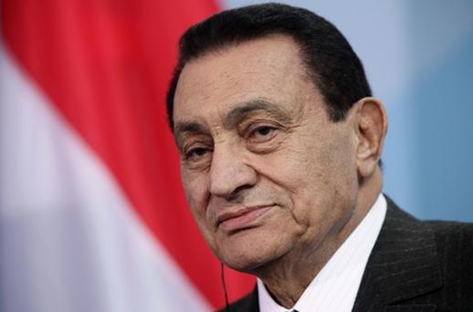 Mr Mubarak had been hospitalised in the Red Sea resort of Sharm el-Sheikh with heart problems since he was ousted in Febraury. Photo: Getty Images