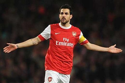 New bid: Barcelona are set to make final push for Arsenal captain Cesc Fabregas by tabling a £35 million offer. Photo: Getty Images