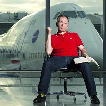 Tony Parsons starts work as writer-in-residence at Heathrow Airport
