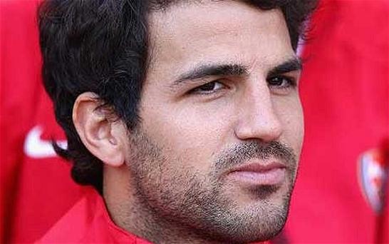 Back to work: Cesc Fabregas will play his first game for Arsenal since April. Photo: Getty Images