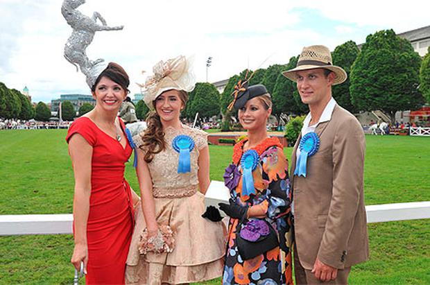 Dublin Horse Show Ladies Day Independent Ie