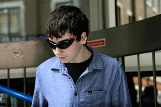 Suspected British computer hacker, Jake Davis, leaves City of Westminster Magistrates' Court after being released on bail. Davis appeared in court on Monday charged with hacking offences, including hacking into the website of the Serious Organised Crime Agency (SOCA). Photo: REUTERS