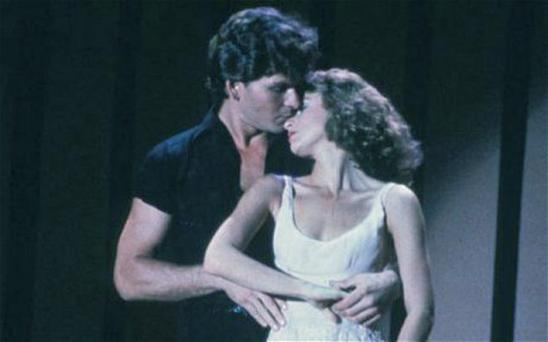 Patrick Swayze and Jennifer Grey in a scene from Dirty Dancing Photo: Reuters