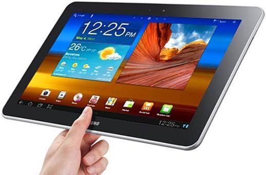 The Samsung Galaxy Tab 10.1. Photo: Samsung