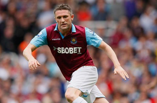 Robbie Keane had a loan spell with West Ham last season in which he could not prevent the team being relegated. Photo: Getty Images