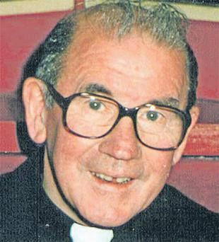 Fr Eugene Greene went to the gardai when one of his victims attempted to blackmail him