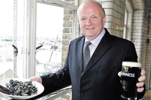 """Paul Carty, the managing director of the Guinness Storehouse and chairman of the Irish Tourist Industry Confederation, said the country """"absolutely"""" needs to capitalise on the stereotype of the traditional pub in order to satisfy our visitors."""