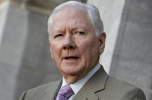 Gay Byrne Photo: Steve Humphreys