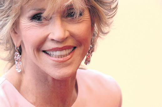 Battle of the ages: Jane Fonda on the red carpet at Cannes this year