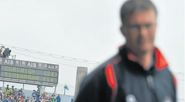 The scoreboard tells its own story as Cork and manager Denis Walsh comfortably overcame Tipperary in May of last year
