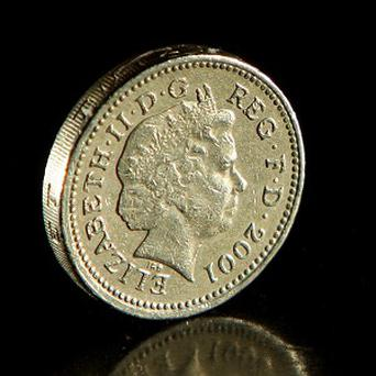 A teenager who threw a one pound coin at a bus door has been fined more than three hundred pounds for criminal damage