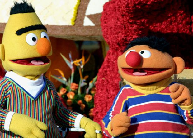 Bert and Ernie: Just friends
