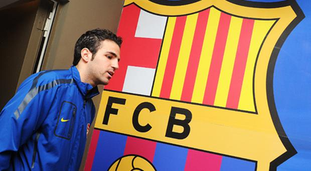 Closing in: Barcelona are said to have agreed a £31m deal to sign Cesc Fabregas. Photo: Getty Images