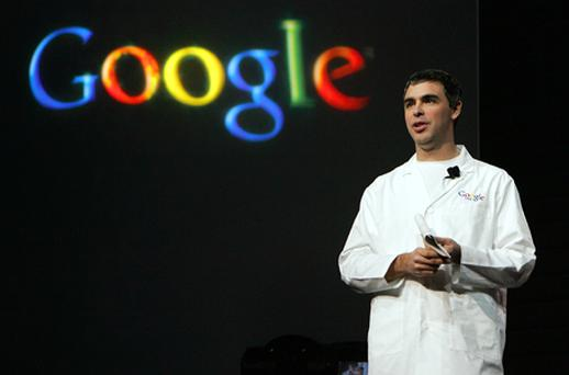 Google chief Larry Page: deal will 'supercharge the entire Android ecosystem'. Photo: Getty Images