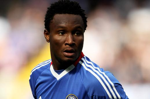Mikel was informed of his father's disappearance less than 24 hours before the club's opening Premier League fixture against Stoke. Photo: Getty Images