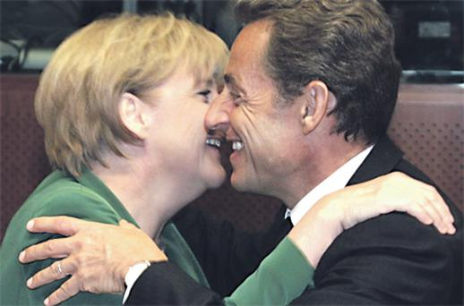 Crunch meeting: Today's summit between Chancellor Merkel and President Sarkozy is crucial for the future of the euro
