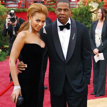 Jay-Z and his wife Beyonce