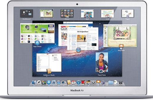 The new Lion operating system for Mac products