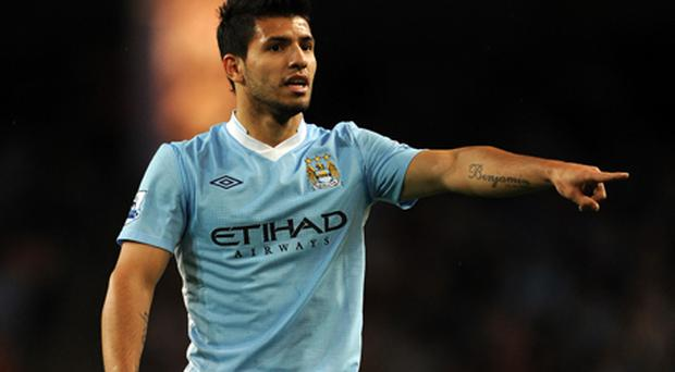 Sergio Aguero. Photo: Getty Images