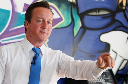 British Prime Minister David Cameron. Photo: Getty Images